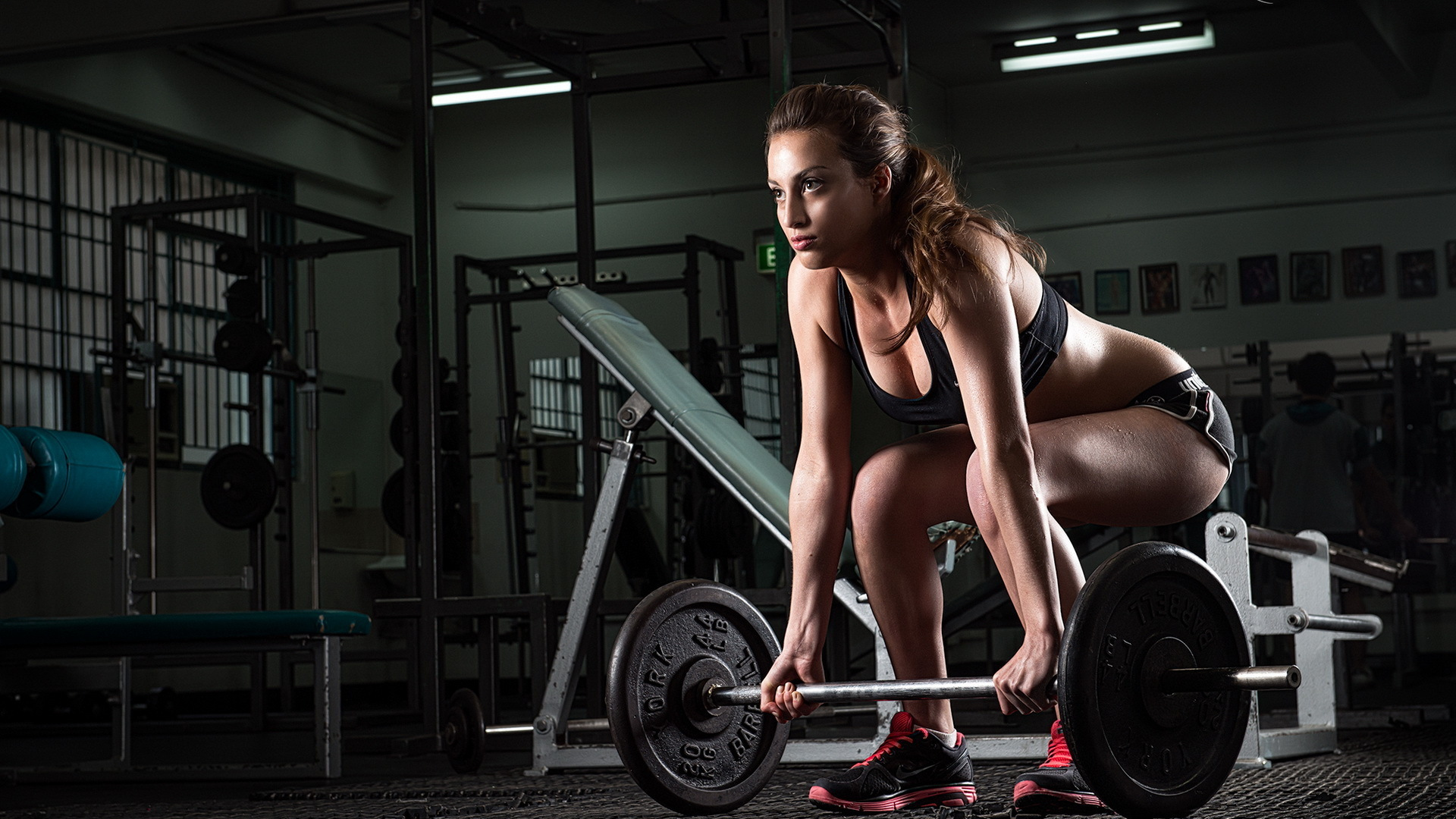 girl fitness wallpapers hd