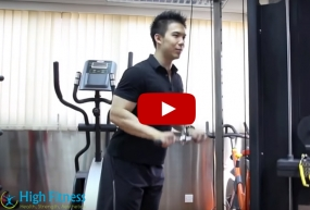 【健身教學 - 三頭肌下壓Cable Push down】eDenki專訪High Fitness 私人健身教練 Francis Lam